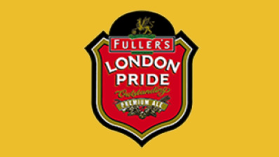 Fuller`s London Pride on tap