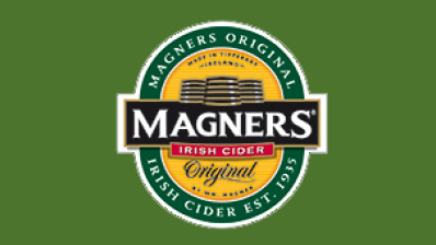 Magners cider on tap