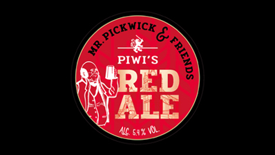 Our very own Piwi Red Ale on tap